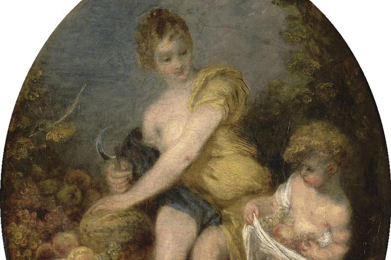 Antoine Watteau. Autumn