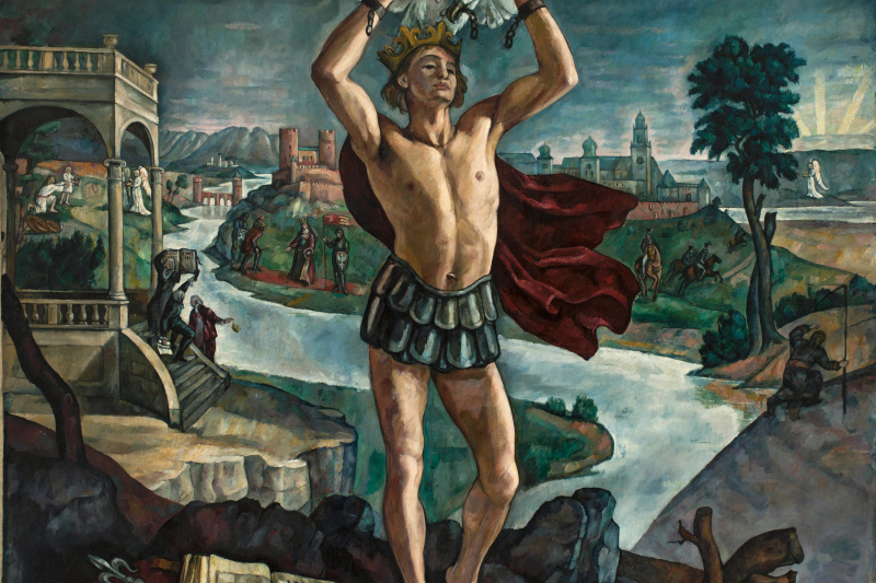 Roman Kramshtyk. Legend of the Crown