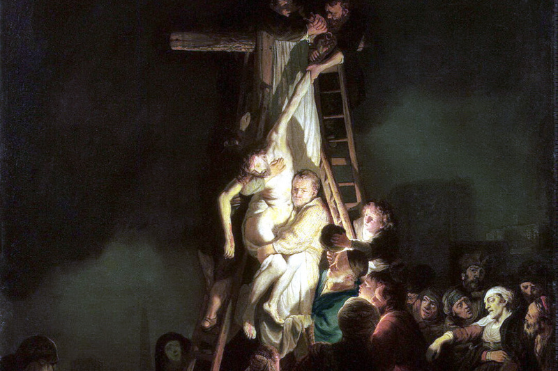 Rembrandt Harmenszoon van Rijn. The descent from the cross
