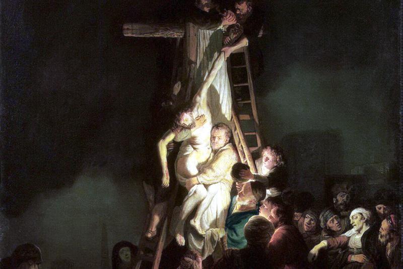 Рембрандт Харменс ван Рейн. Снятие с креста
