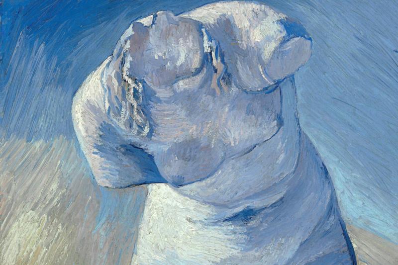 Vincent van Gogh. Plaster female torso