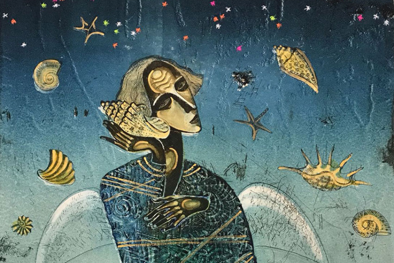 "Andrei Nikolayevich Mashanov. ""Sounds Of The Sea"""