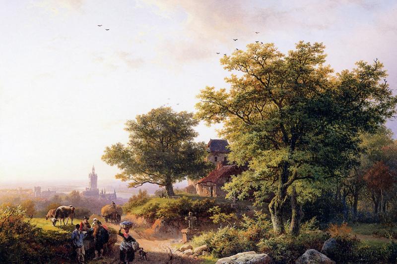 Barend Cornelis Kukkuk. Middelburg Cliff