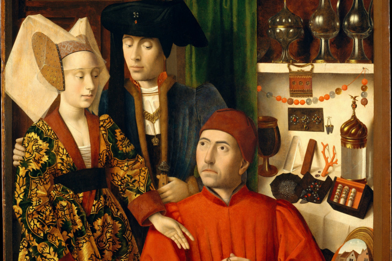 Petrus Christus. A Goldsmith in his Shop (Saint Eligius)