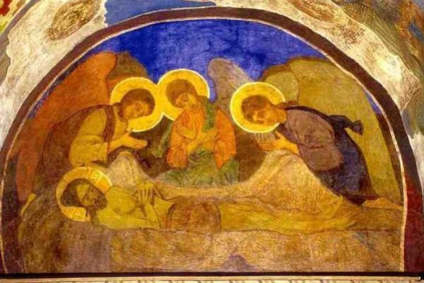 Mikhail Vrubel. Lamenting christ