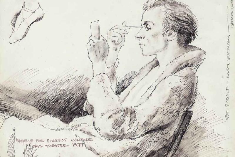 Jamie Wyeth. Rudolf Nureyev