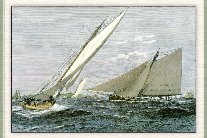 Sailing Heritage. Ship 10