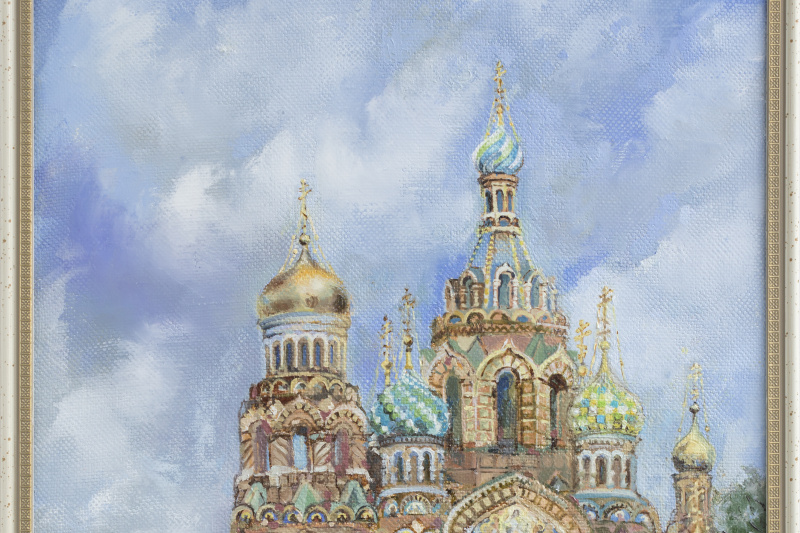 "Наталья Михайловна Пиянзина. ""Cathedral of the Savior on Spilled Blood"""