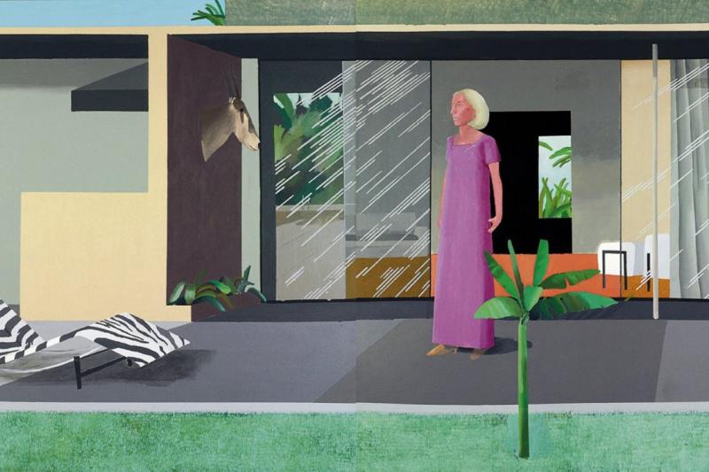 David Hockney. Housewife of Beverly hills