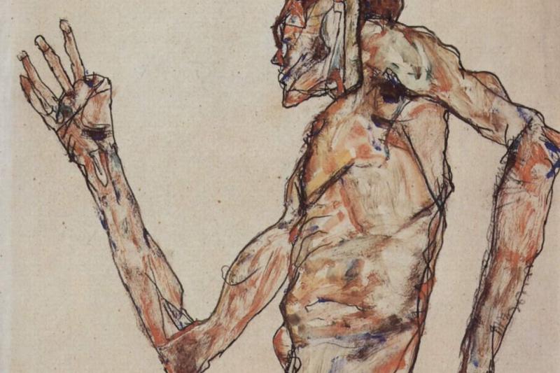 Эгон Шиле. Танцор