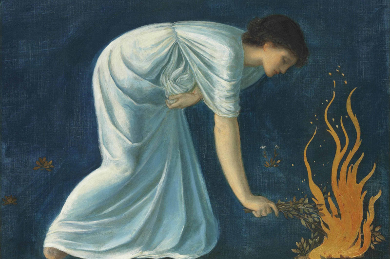 Edward Coley Burne-Jones. Hero