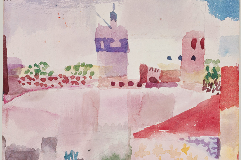 Пауль Клее. Мечеть