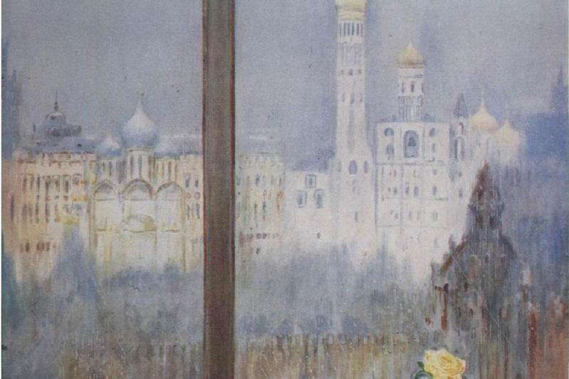 Юрий Иванович Пименов. Кафе и дождь
