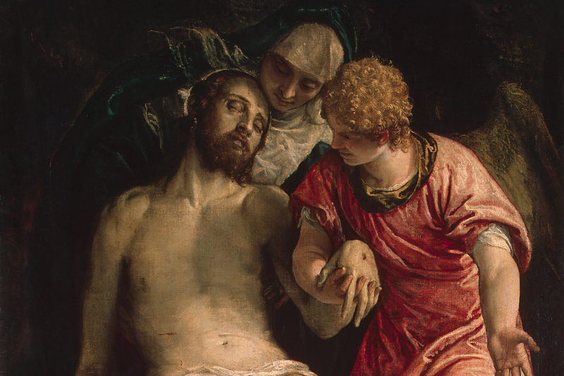 Paolo Veronese. Lamenting christ