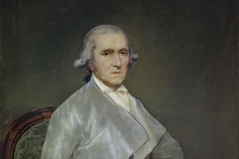 Francisco Goya. Portrait of the artist Francisco Bayeux