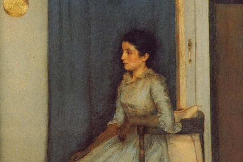 Fernand Knopf. Portrait of Marie Monn