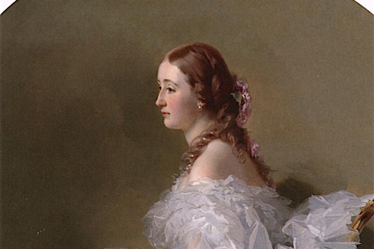 Franz Xaver Winterhalter. Lydia Shabel'skoye, Baroness, Stail von Holstein