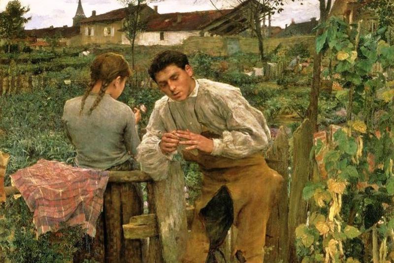 Жюль Бастьен-Лепаж. Деревенская любовь