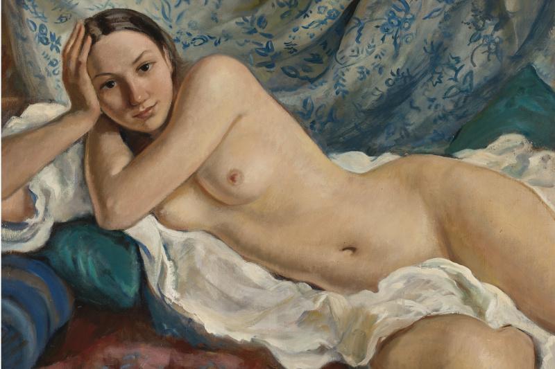 Zinaida Serebryakova. Reclining Nude