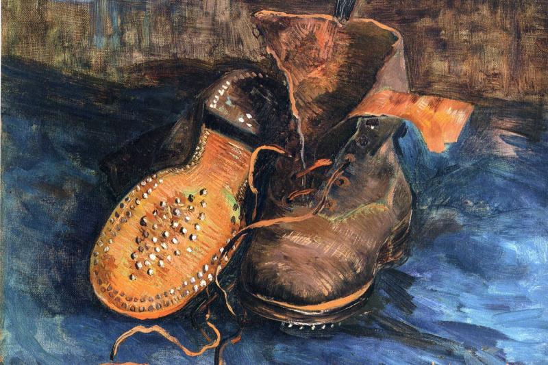 Vincent van Gogh. Pair of shoes