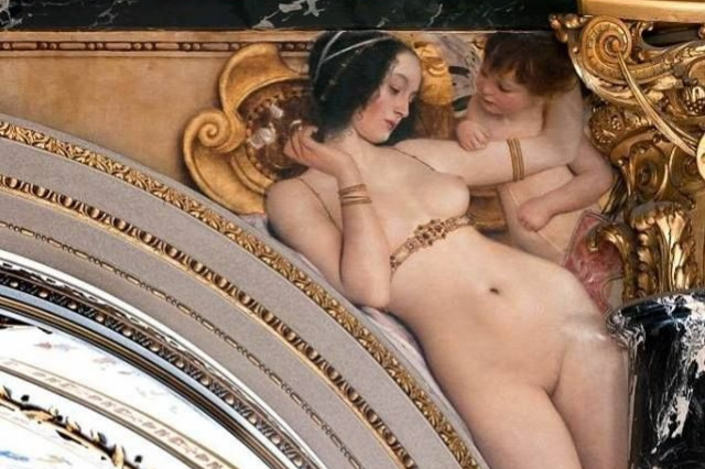 Gustav Klimt. The Florentine Renaissance (Painting for the Museum of art history, Vienna)