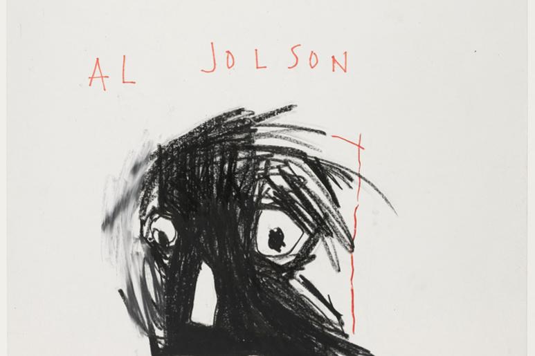 Jean-Michel Basquiat. Al Jollson