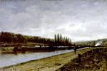 Alexey Petrovich Bogolyubov. Bichenek on the Oise river