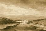 Алексей Петрович Боголюбов. Монастырь на берегу реки
