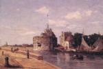 Эжен Буден. Башня Франциска I в Гавре