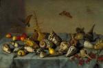 Балтазар ван дер Аст. Натюрморт с раковинами