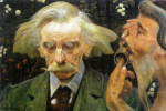 Яцек Мальчевский. Неизвестный набросок портрета Станислава Брыни