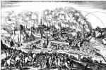 Маттеус Мериан Старший. Баутцен, Общий вид с осадой города в 1620 году