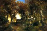 Томас Моран. Густой лес