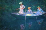 Клод Моне. Лодка в Живерни
