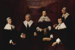 Франс Халс. Групповой портрет регентш женского приюта для престарелых в Гарлеме