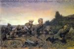 Василий Григорьевич Перов. Пластуны под Севастополем. Эскиз одноименной картины