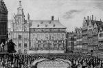 Венцель Холлар. Объявление Вестфальского мира в Антверпене
