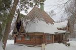 1877—1878 годы — баня-«теремок» в Абрамцеве