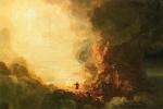 Томас Коул. Крест и паломник в конце своего путешествия