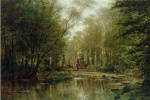 Лес в Вёле. Нормандия