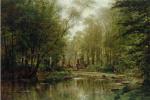 Alexey Petrovich Bogolyubov. Forest in Velay. Normandy