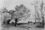 Камиль Коро. Тополя и серебристые ивы