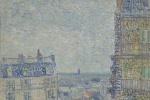 Винсент Ван Гог. Вид Парижа из комнаты на улице Лепик