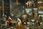 Франс Франкен Младший. Аллегория зрения и обоняния. (совм с Яном Брейгелем Ст и Герардом Зегерсом) Около 1620