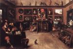 Франс Франкен Младший. Галерея торговца искусством