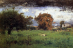 George Inness. Early autumn in Монтклер2