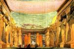 "Lev Samoilovich Bakst (Leon Bakst). The scenery for the ballet ""Cleopatra"""