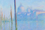 Клод Моне. Большой канал в Венеции и Собор Санта-Мария-делла-Салюте