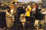 Cheremis wedding (the Abduction of molodosti)