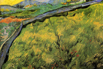 Винсент Ван Гог. Весеннее пшеничное поле на восходе